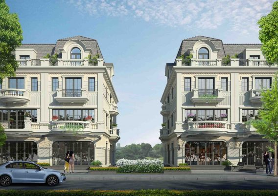 phoi canh shophouse kd g1 anlac green symphony